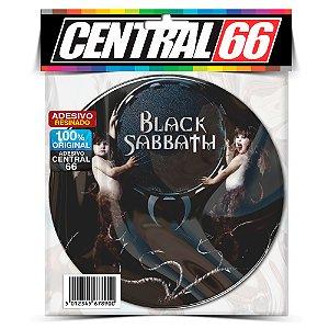 Adesivo Resinado Redondo Black Sabath - Demonios Crianças