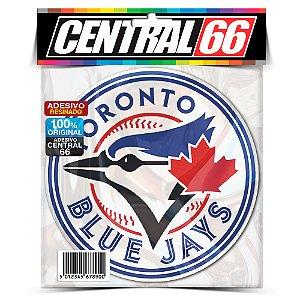 Adesivo Resinado Redondo Time - Blue Jays Toronto