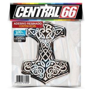 Adesivo Resinado Religião - Mjolnir