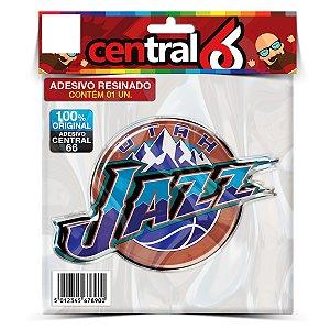 Adesivo Resinado Time - Utah Jazz