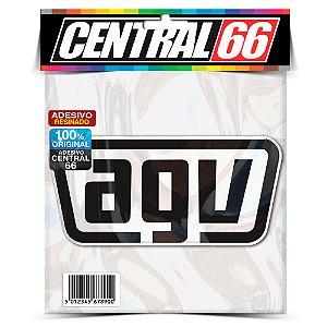 Adesivo Refletivo AGV 7,5CM Resinado