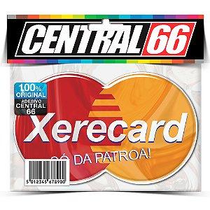 Adesivo Resinado Xerecard - Só da Patroa Resinado