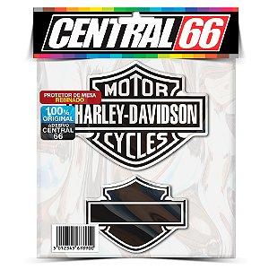 Kit Adesivos Resinados Emblema Escudo Harley Escudos