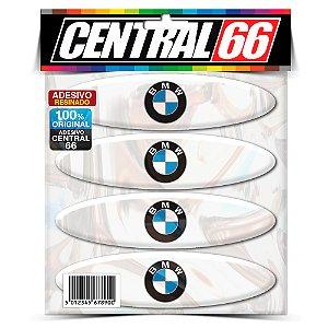 Kit Adesivos Refletivo de Capacete BMW Resinado