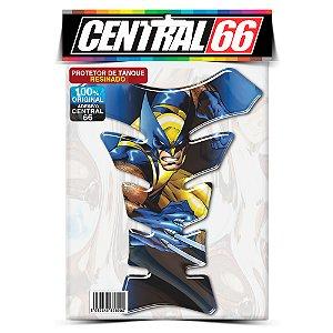 Tankpad Universal Wolverine M2 - Azul Adesivo Protetor Resinado