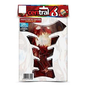 Tankpad Universal Orbital Naruto 4 caudas Monstro Adesivo Protetor Resinado