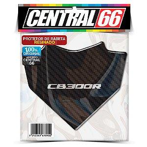 Protetor de Rabeta Resinado Honda CB 300R - Carbono Preto