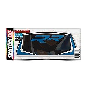 Protetor de Rabeta Resinado BMW S1000RR - Preto Logo Azul