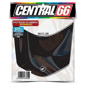 Protetor de Rabeta Resinado Honda PCX - Carbono preto