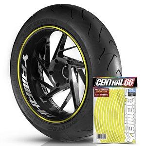 Kit Adesivo Interno de Roda G Yamaha + Friso Amarelo