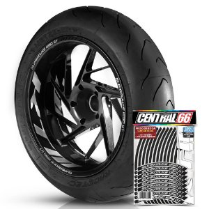 Adesivo Friso de Roda M1 +  Palavra SUPERDUKE 1290 GT + Interno G KTM - Filete Preto