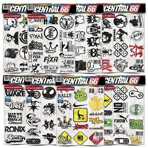 Kit 8 Cartelas - Tuning M3 Adesivos Stickers