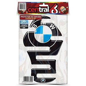 Protetor de Tanque Tankpad BMW Carnono Preto Resinado Emborrachado Alto Relevo