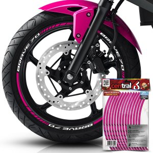 Frisos de Roda Premium Iros BRAVE 70 Rosa Filete