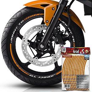 Frisos de Roda Premium Jonny JONNY TR Refletivo Dourado Filete