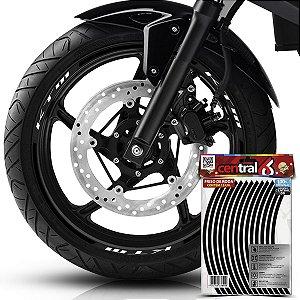 Frisos de Roda Premium KTM Preto Filete