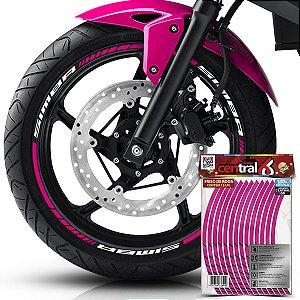 Frisos de Roda Premium MVK SIMBA Rosa Filete