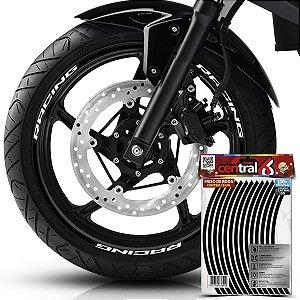 Frisos de Roda Premium Shineray RACING Preto Filete