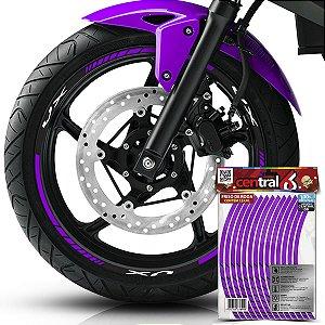 Frisos de Roda Premium Suzuki VX Roxo Filete
