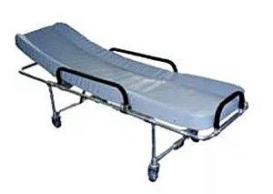 Maca Fixa para Ambulância Alta/Baixa em Alumínio - Salutem Móveis Hospitalares
