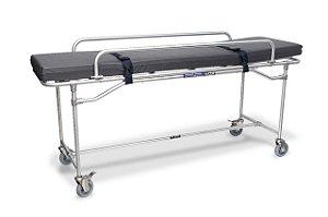 Maca para Ressonância Magnética em Alumínio - Salutem Móveis Hospitalares