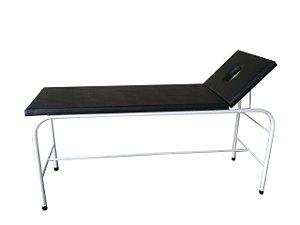 Maca/Mesa Para Massagem com Orifício Estrutura em Pintura Epóxi - Salutem Móveis Hospitalares