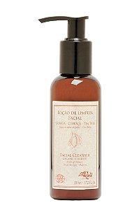 Loção limpeza facial/demaquilante vegana e orgânica Arte dos Aromas 110ml