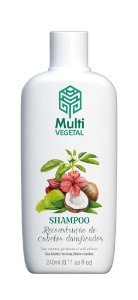 Shampoo vegano Multi Vegetal - Côco 240ml