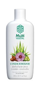 Condicionador vegano Multi Vegetal - Oliva com argan 240ml