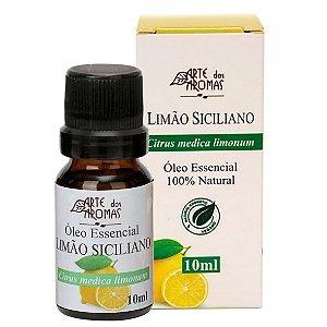 Óleo essencial de limão siciliano vegano e natural Arte dos Aromas 10ml