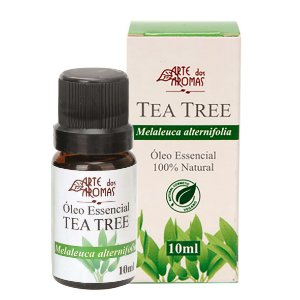 Óleo essencial de Tea Tree/Melaleuca vegano e natural Arte dos Aromas 10ml