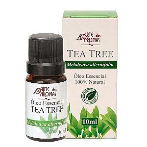 Óleo essencial de Tea Tree/Melaleuca vegano e natural Arte dos Aromas 10ml