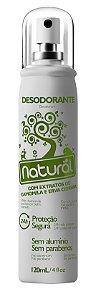 Desodorante vegano spray Suavetex - Camomila e Erva-cidreira 120ml