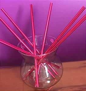 Canudo ecológico - Pink