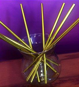 Canudo ecológico - Amarelo Flúor