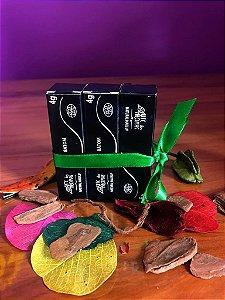 Batons veganos e orgânicos Arte dos Aromas - Rosa Quartzo, Nude coral e Vinho
