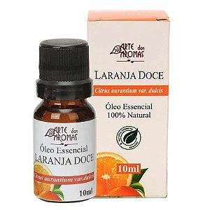 Óleo essencial de laranja doce vegano e natural Arte dos Aromas 10ml