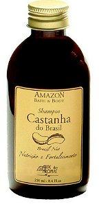 Shampoo vegano e natural Arte dos Aromas - Castanha do Brasil 250ml