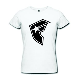 Camiseta Baby Look Famous - 100% Algodão
