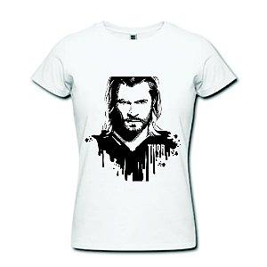 Camiseta Baby Look - Thor - 100% Algodão