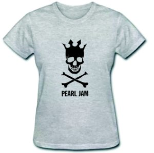 Camiseta Baby Look - Pearl Jam - 100% Algodão