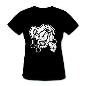 Camiseta Baby Look - Joker - 100% Algodão