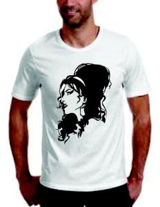 Camiseta Amy Winehouse 100% Algodão