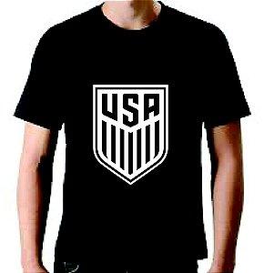 Camiseta Usa Soccer Team - 100% Algodão