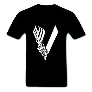 Camiseta Vikings - 100% Algodão