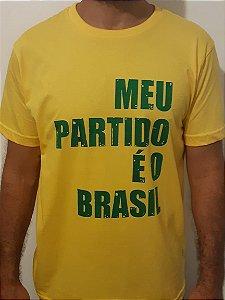 Meu partido é o Brasil 100% Algodão