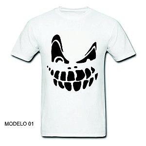 Camisetas Halloween 100% Algodão