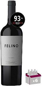 Caixa C/ 06 garrafas - Cobos Felino Malbec 2020  JS-93Pts