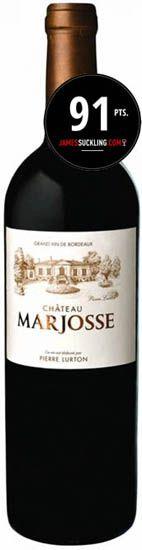 Château Marjosse Rouge 2016  JS-91 Pts