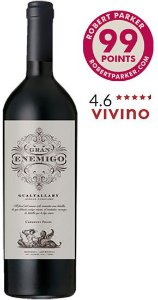 Gran Enemigo Single Vineyard Gualtallary 2016  RP - 99 Pts.